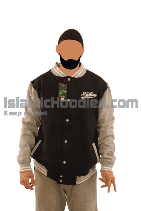 Black & Grey Islamic Stylish Jacket