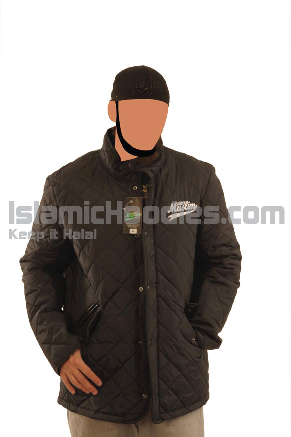 Black Muslim Stylish Jacket