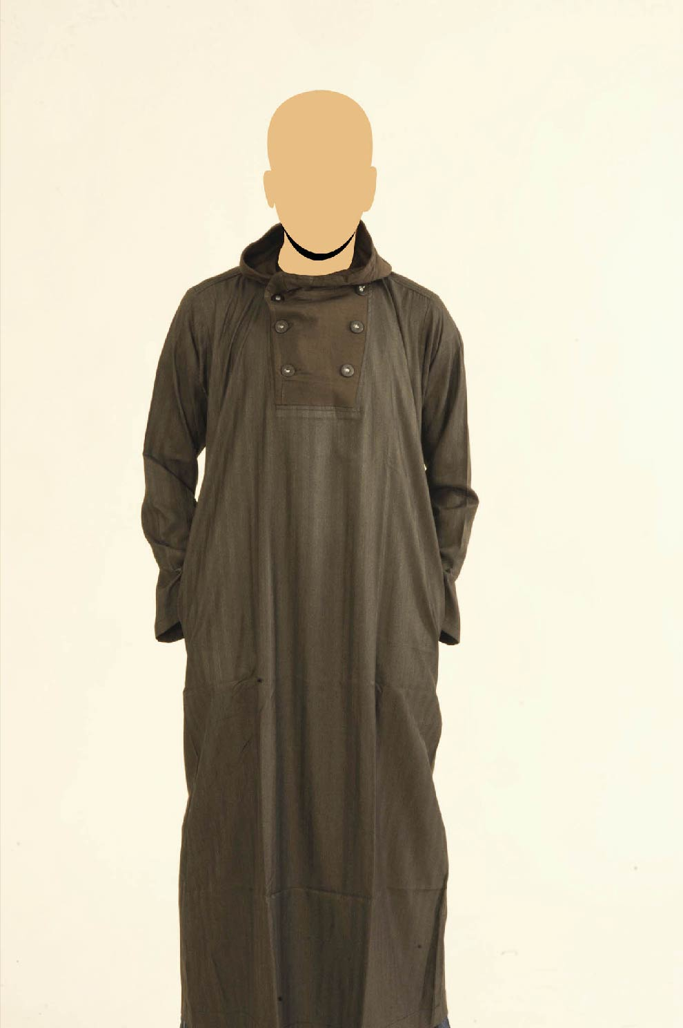 Recolite Brown Hooded Jubba