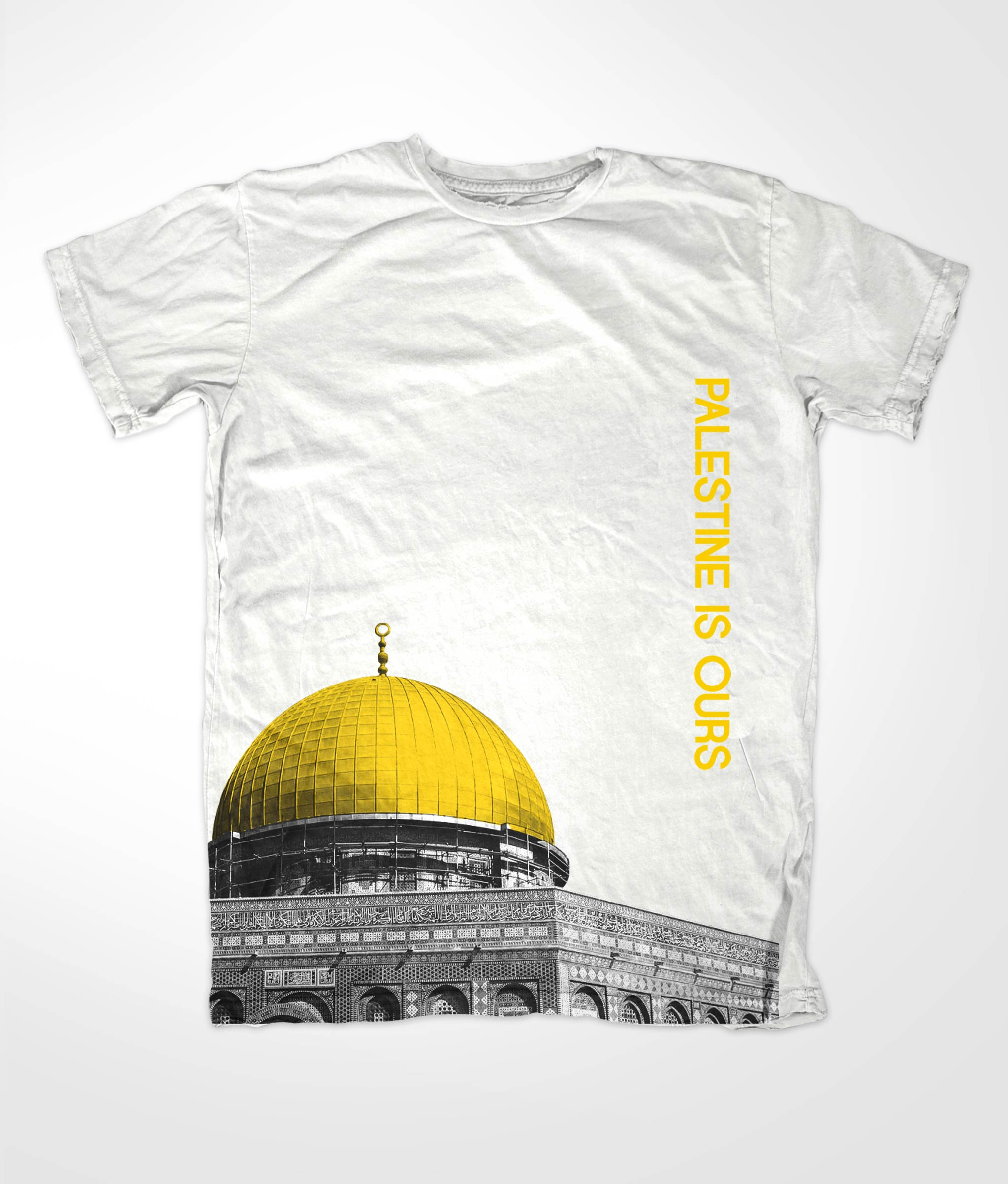 Dome of Rock White Muslim T Shirt