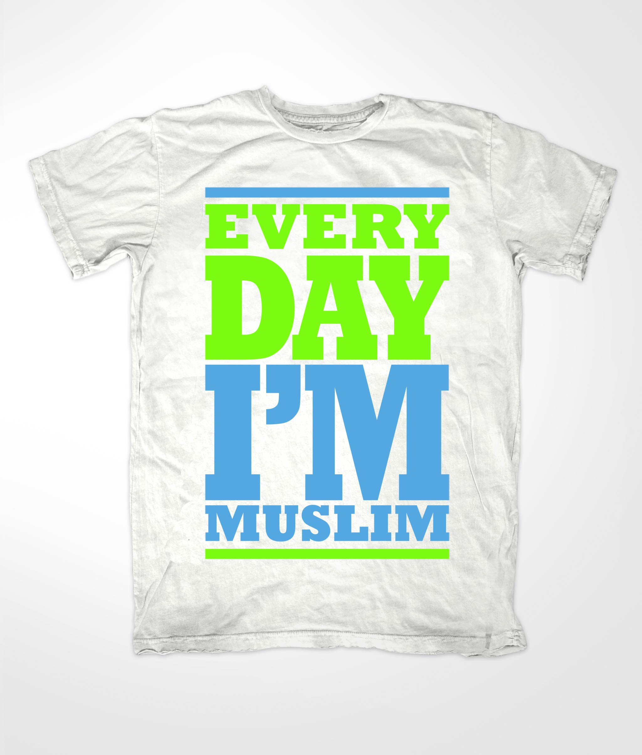 Every Day Im White Muslim Tees