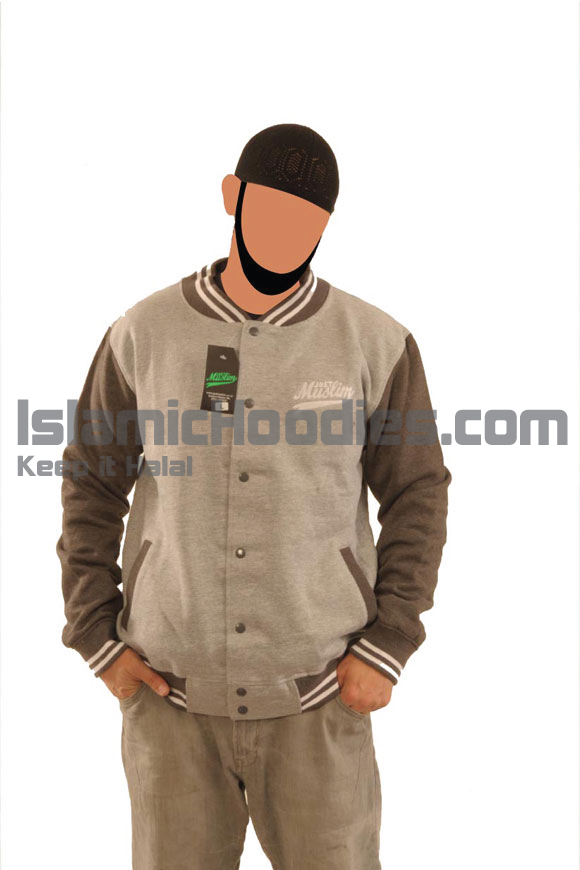Light Grey Islamic Stylish Jacket