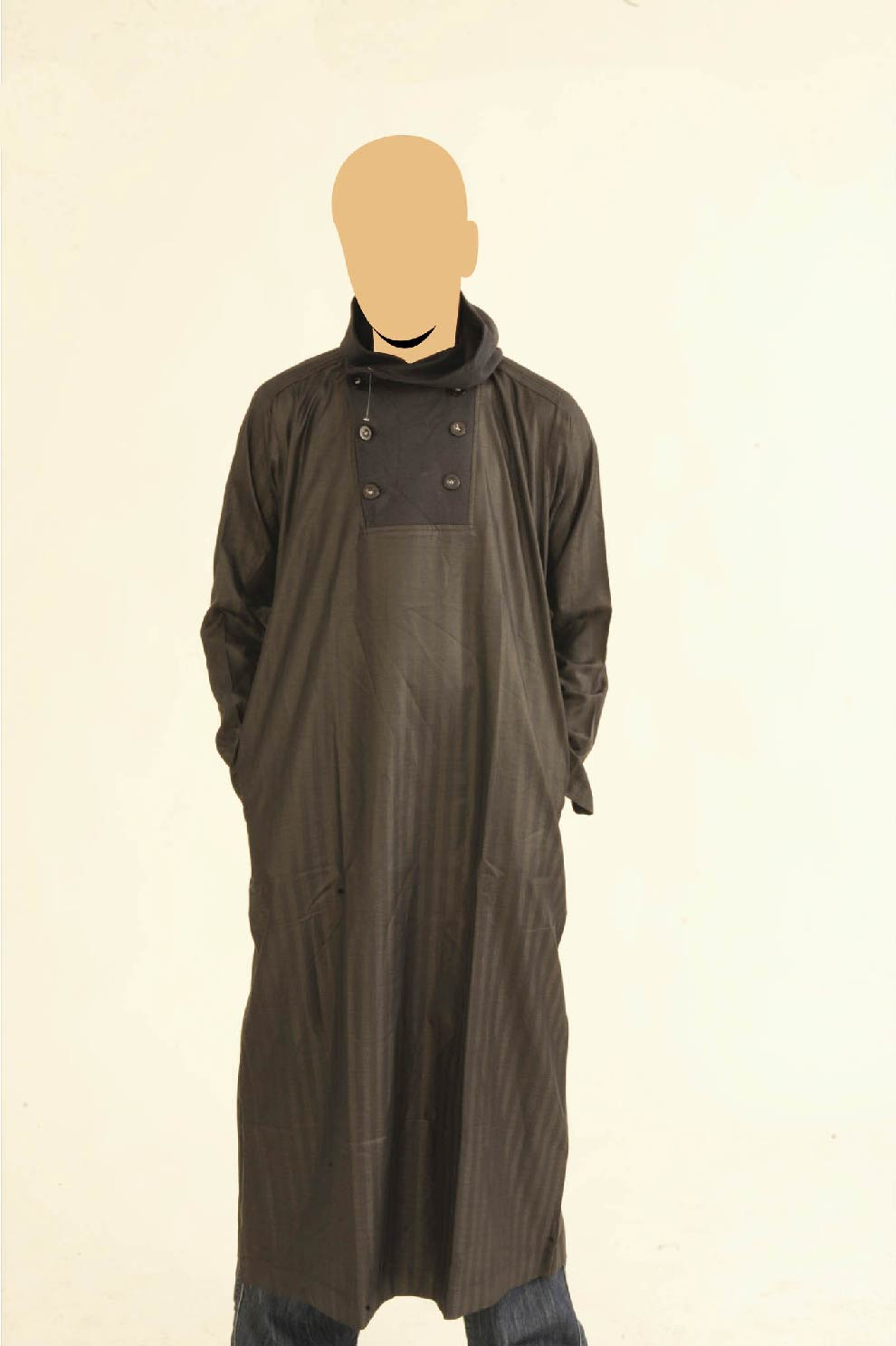 Recolite Hooded Navy Jubba