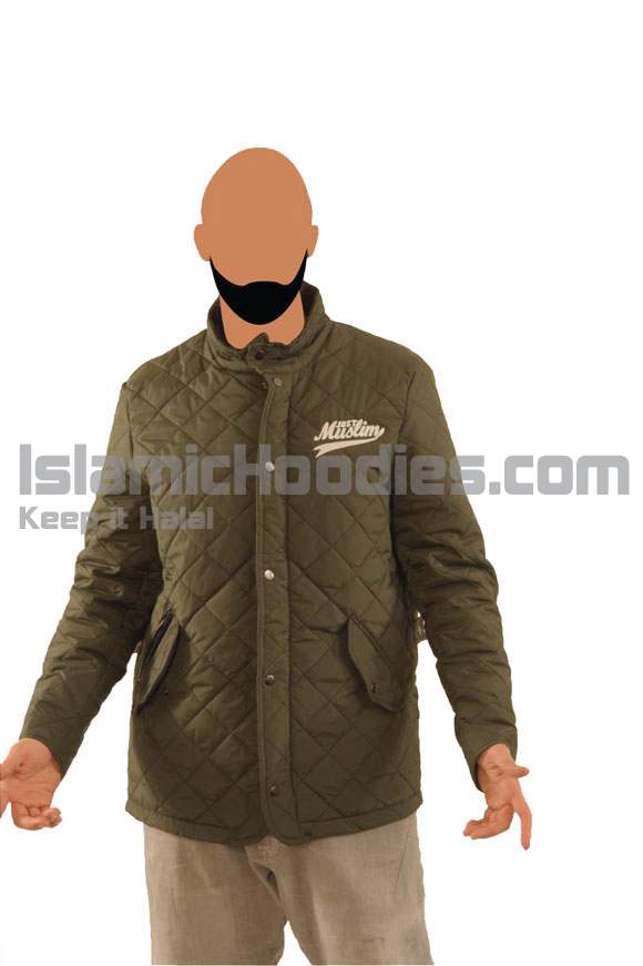 Olive Color Islamic Stylish Jacket