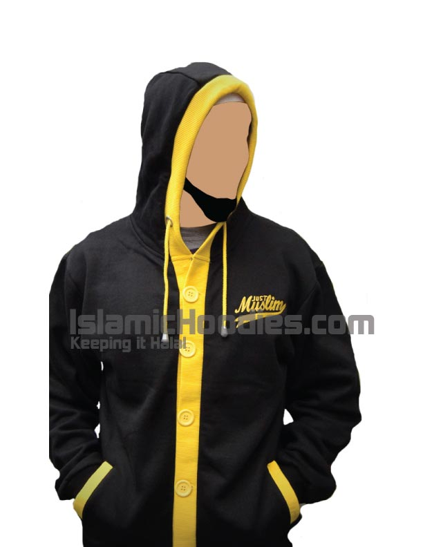 Yellow Islamic cardigan